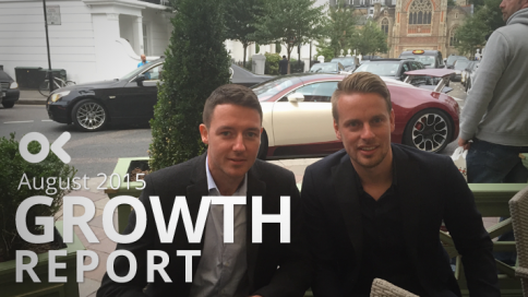 August 2015 Growth Report