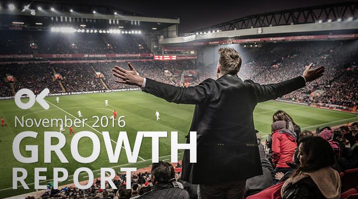 November 2016 Growth Report