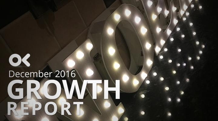 December 2016 Growth Report